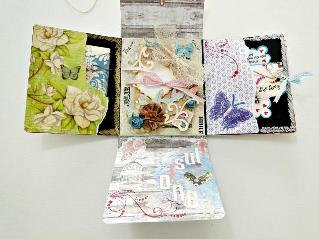 Álbum Tags-Fotos carpeta desplegable Cinderella 17
