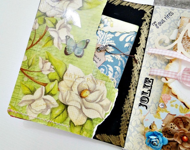 Álbum Tags-Fotos carpeta desplegable Cinderella 18