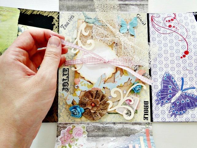 Álbum Tags-Fotos carpeta desplegable Cinderella 19