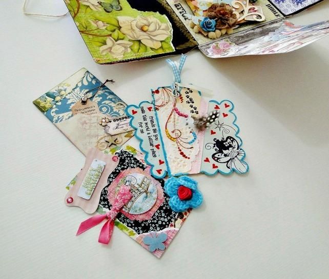 Álbum Tags-Fotos carpeta desplegable Cinderella 20