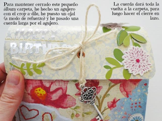Álbum Tags-Fotos carpeta desplegable Cinderella 21