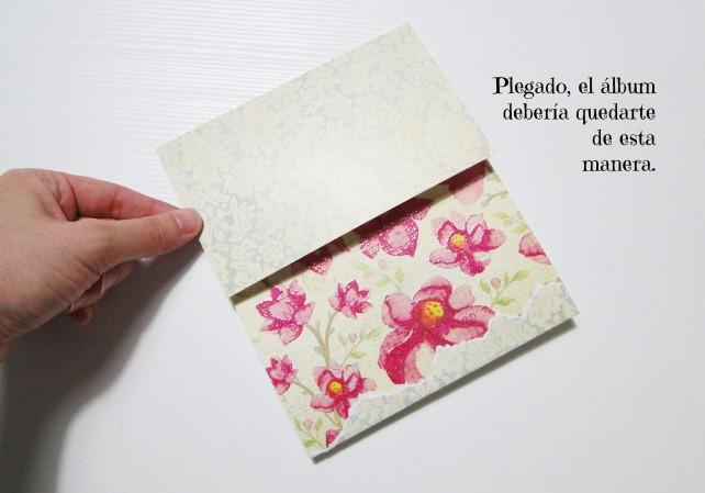Álbum Tags-Fotos carpeta desplegable Cinderella 3
