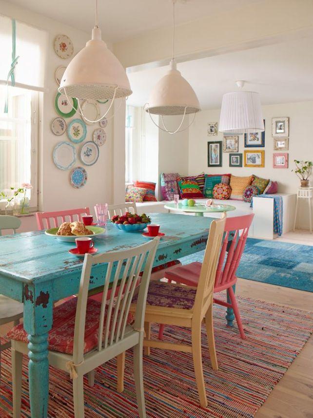 mesa de color