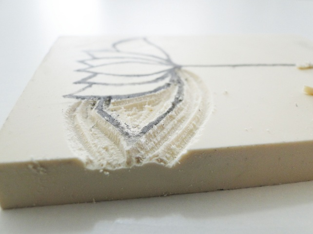 Sello carvado por Cinderella 17