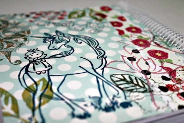 Agenda Cinderella Curso Madrid ARTE SCRAP 14