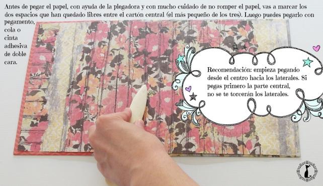 Tutorial Cinderella Tapas tipo libro 12