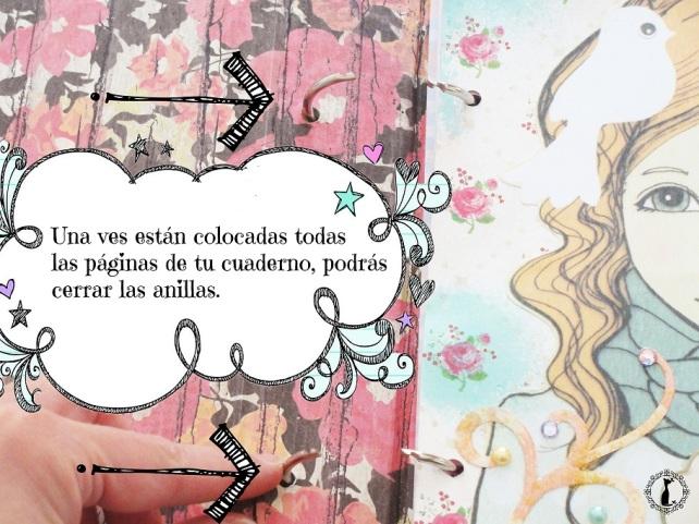 Tutorial Cinderella Tapas tipo libro 23