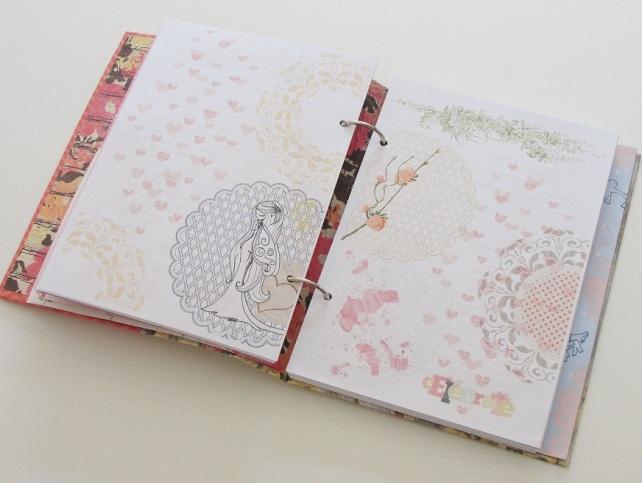 Tutorial Cinderella Tapas tipo libro 31