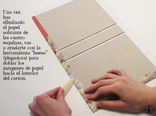 Tutorial Cinderella Tapas tipo libro 8