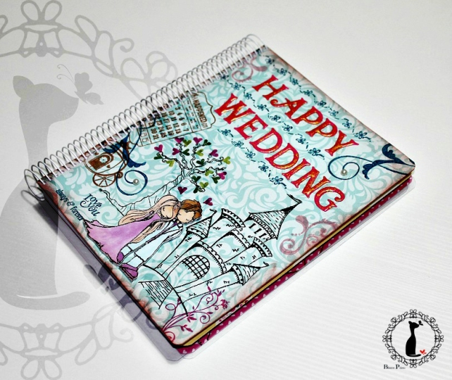 Agenda para Novias - Happy Wedding 1
