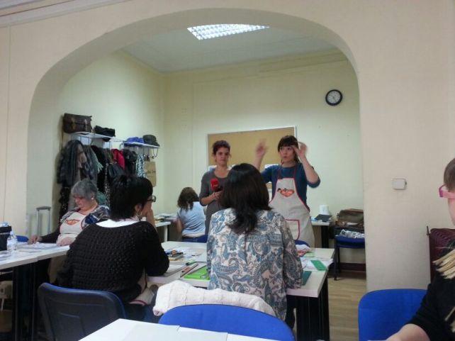 RTVE en taller Cinderella - Bienve Prieto