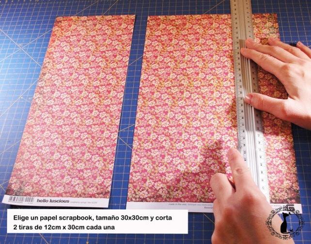 Carpeta con separadores - Tutorial paso a paso Cinderella 1