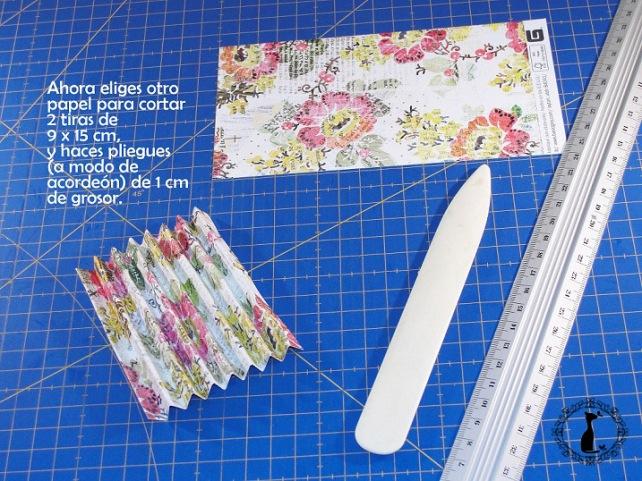 Carpeta con separadores - Tutorial paso a paso Cinderella 10