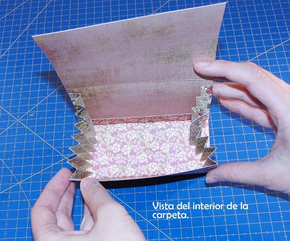 Carpeta con separadores - Tutorial paso a paso Cinderella 14