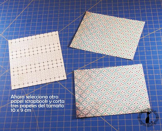 Carpeta con separadores - Tutorial paso a paso Cinderella 15