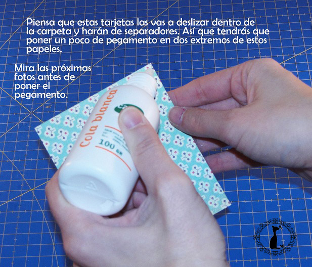 Carpeta con separadores - Tutorial paso a paso Cinderella 16