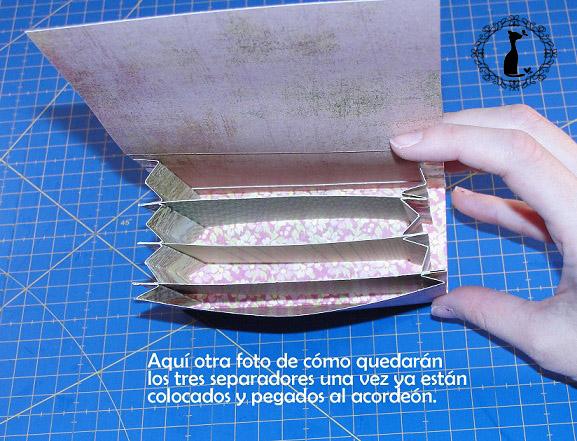Carpeta con separadores - Tutorial paso a paso Cinderella 18