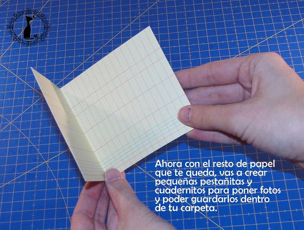Carpeta con separadores - Tutorial paso a paso Cinderella 21