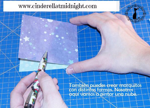 Carpeta con separadores - Tutorial paso a paso Cinderella 25