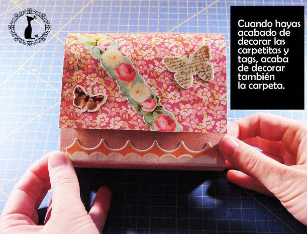 Carpeta con separadores - Tutorial paso a paso Cinderella 29