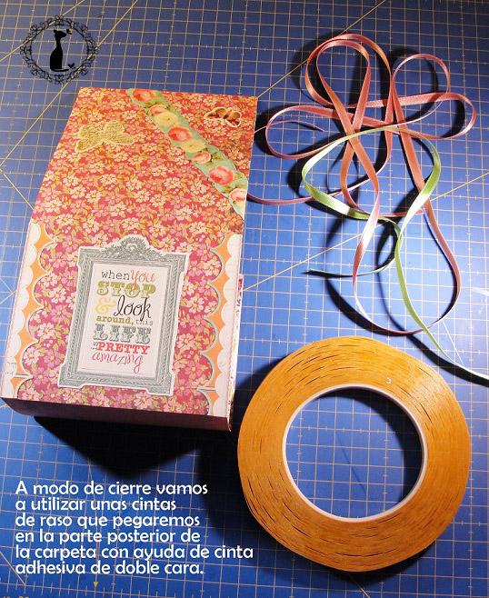 Carpeta con separadores - Tutorial paso a paso Cinderella 30