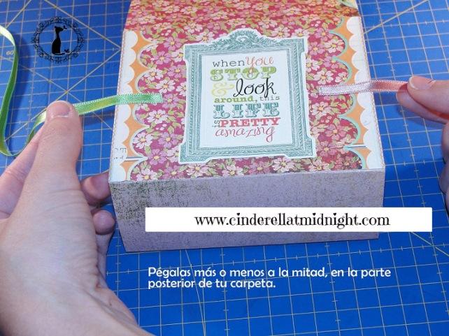 Carpeta con separadores - Tutorial paso a paso Cinderella 32