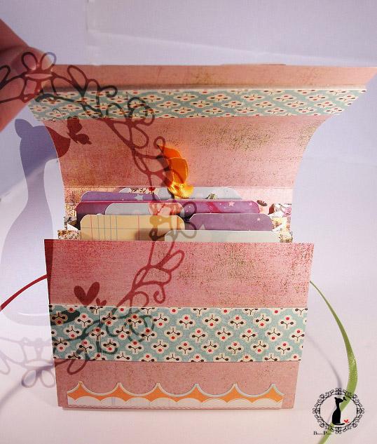 Carpeta con separadores - Tutorial paso a paso Cinderella 35