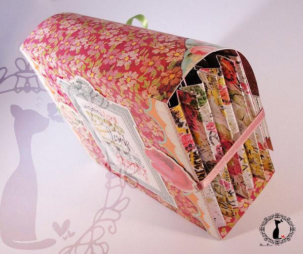 Carpeta con separadores - Tutorial paso a paso Cinderella 39