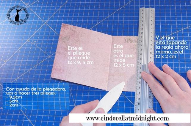 Carpeta con separadores - Tutorial paso a paso Cinderella 6