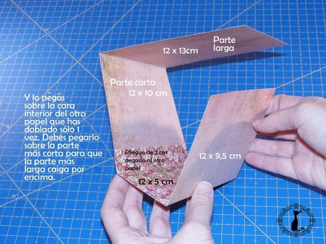 Carpeta con separadores - Tutorial paso a paso Cinderella 9