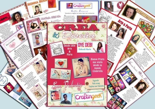 revista san valentín crea diseña