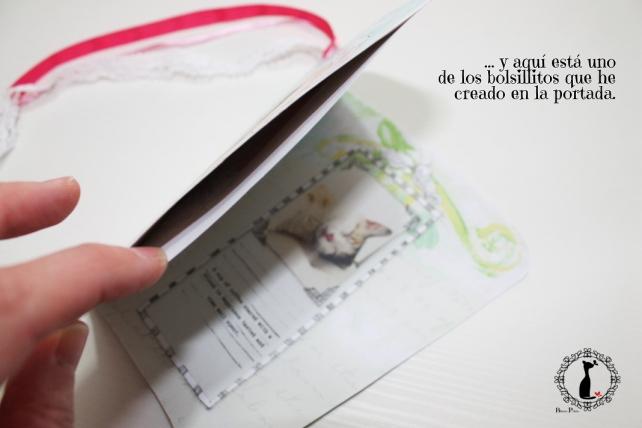 Tutorial paso a paso Mini album taza café - Cinderella 12