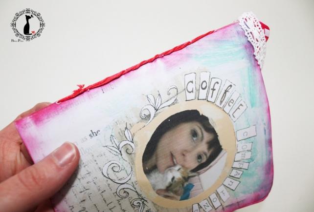 Tutorial paso a paso Mini album taza café - Cinderella 19