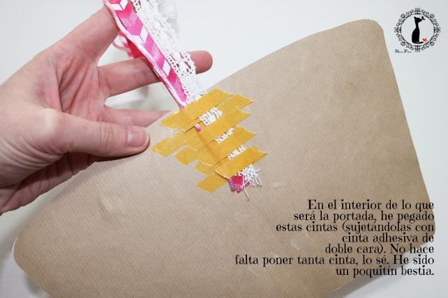 Tutorial paso a paso Mini album taza café - Cinderella 7
