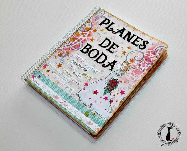Agenda para boda PLANES DE BODA -Agenda Cinderella 1