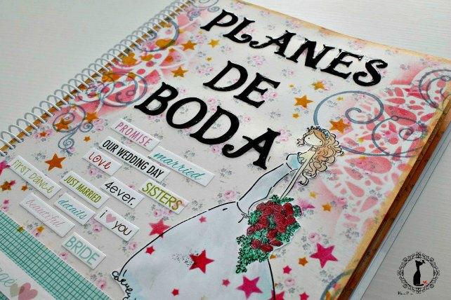 Agenda para boda PLANES DE BODA -Agenda Cinderella 2