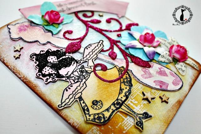 Tarjeta cumple Cinderella 3