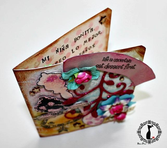 Tarjeta cumple Cinderella 4