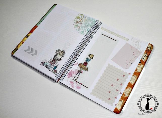 Agenda Scrapbook Vintage Girl 10