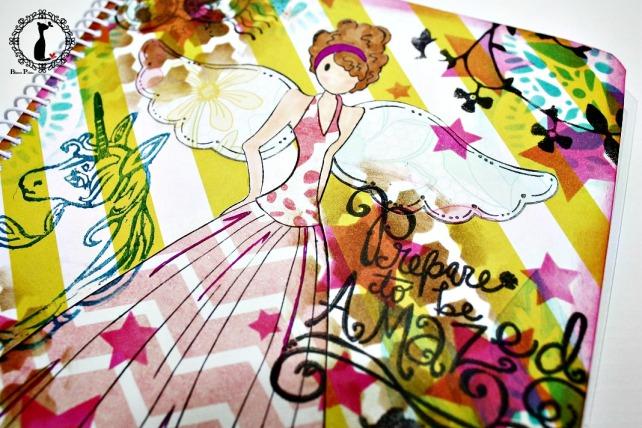 Agenda anual scrapbook Cinderella-La vida es sueño 2
