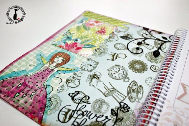 Agenda anual scrapbook Cinderella-La vida es sueño 5