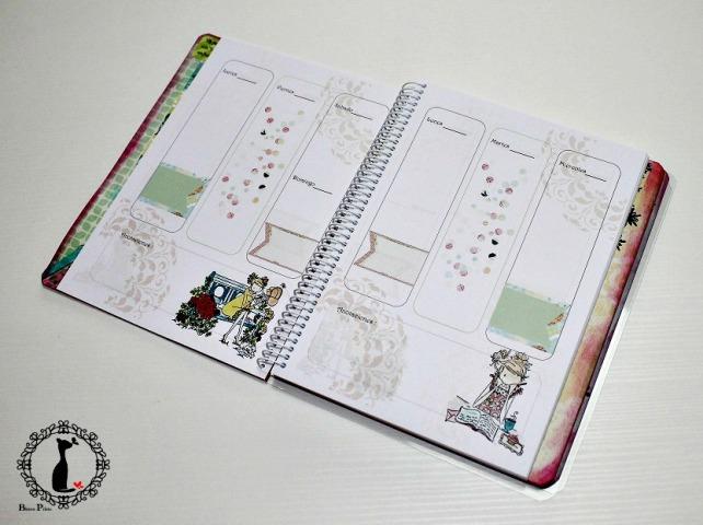 Agenda anual scrapbook Cinderella-La vida es sueño 6