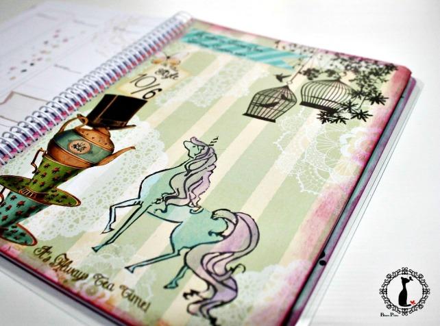 Agenda anual scrapbook Cinderella-La vida es sueño 8