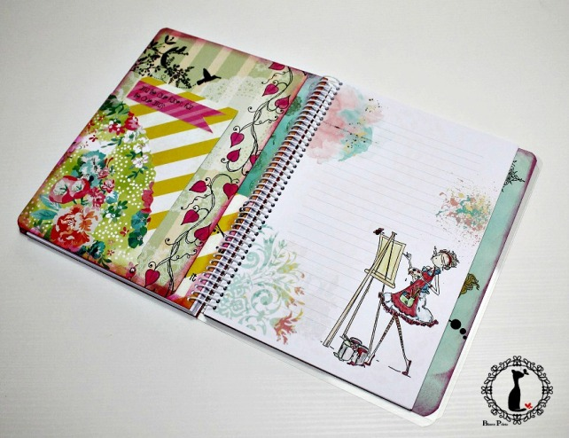 Agenda anual scrapbook Cinderella-La vida es sueño 9