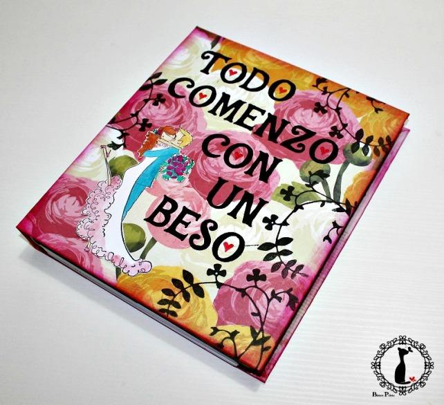 Agenda de boda Cinderella - TODO COMENZO CON UN BESO 1