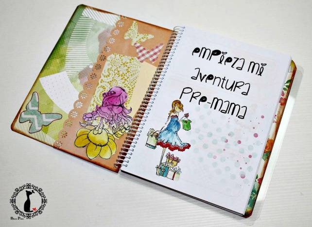 Kit Agenda Pre mama - Tutorial Agenda para bebé 33
