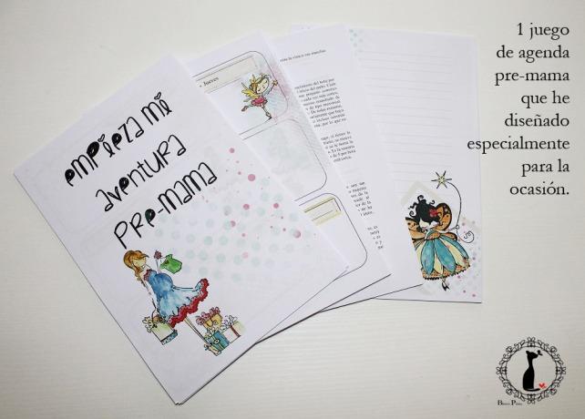 Kit Agenda Pre mama - Tutorial Agenda para bebé 4
