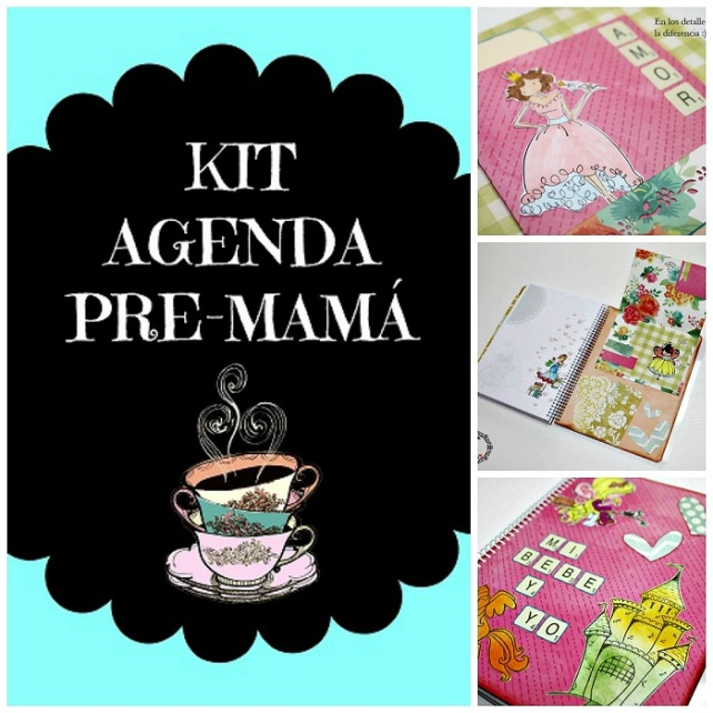 Kit Agenda Pre-mamá
