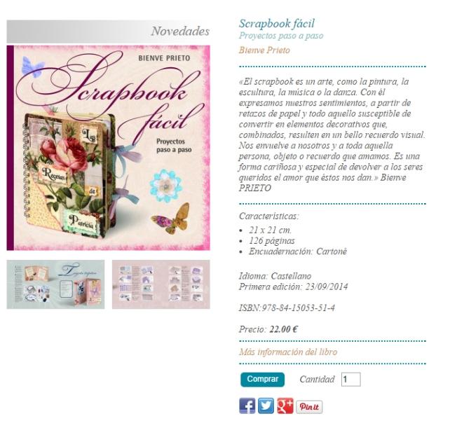 Libro Scrapbook Fácil