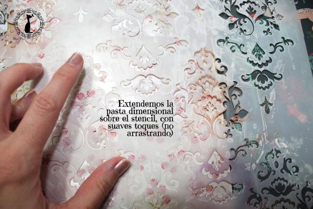 6o_Tutorial AlbumMixedMedia Cinderella 12